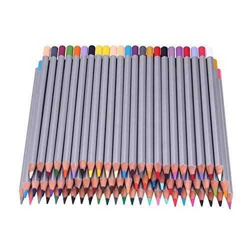 Crayons de couleur, Lance Home 72 Crayons Premier souple de base Art Colored crayons à dessin Art Drawing crayons pour l'artiste Sketch Artiste Sketch Enfants Rédaction Manga Création