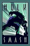 Marvel Deco - Hulk Maxi Poster der Grösse 61 x 91,5 cm