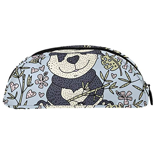 BENNIGIRY Astuccio portapenne a forma di orsetto panda con grande capacità, organizer da scrivania, per articoli di cancelleria per scuola e ufficio