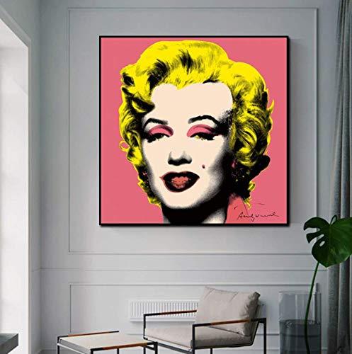 ysldtty Puzzles 1000 Stück Und Andy Warhol Marilyn Monroe Sexy Frauen F Puzzlespielzeug Für Erwachsene Kinder Muster Lernspielzeug A-4648