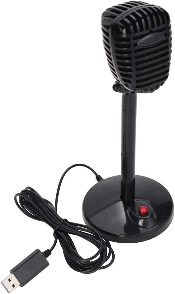 low-pricing Akozon Desktop Conference Microphone 360° High S Pickup Sound Spring new work