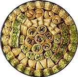 MASSARA Premium Edition Baklava 700 Gramm in der Metall Box - Baklawa gemischt mit Pistazien, Cashewnüssen und Pinienkernen