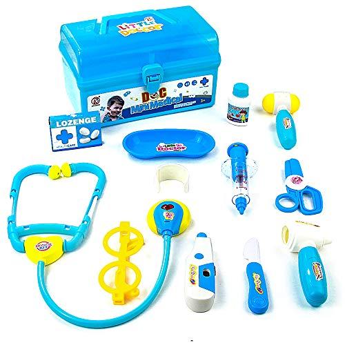 Maletín Médico Pretender Doctor Kit Enfermera Juego de Rol para Niños 3 4 5 6 Años