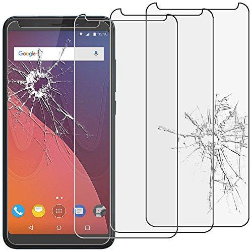 ebestStar - kompatibel mit Wiko View Panzerglas x3 View 16GB 32GB Schutzfolie Glas, Schutzglas Bildschirmschutz, Bildschirmschutzfolie 9H gehärtes Glas [Phone: 151.5 x 73.1 x 8.7mm, 5.7'']