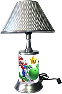 Table Lamp with Silver Colored Shade, SuperM.