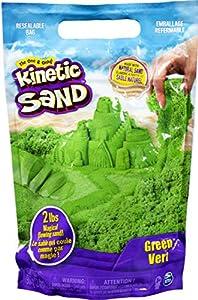 Kinetic Sand-grün, Verde, 907 g, Color (Spin Master 20107735-6047182)