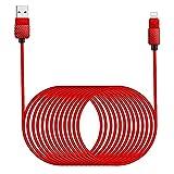 5M/16Ft iPhone Ladekabel Lightning Kabel MFi Zertifiziert iPhone Kabel Nylon Schnellladung Apple...