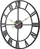 Wdszb Reloj de Pared para Exteriores, Reloj de jardín de 12...