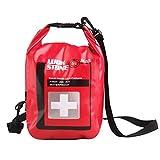 Yundxi Bolsa Seca Impermeable de Almacenaje Color Rojo para Primeros Auxilios de Emergencia Multifuncional para Rafting Acampar al Aire Libre 5L