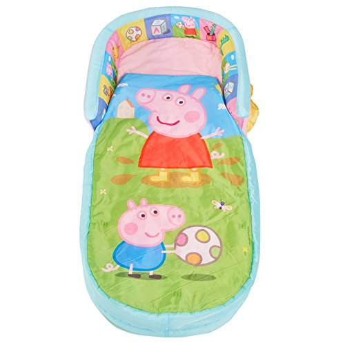 Readybed Peppa Pig My First Säng, Polyester-Bomull, Multi, 130 x 61 x 23 cm