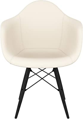 NyeKoncept Mid-Century Armchair, Ivory