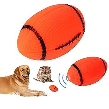 Domybest pour animal domestique Chien son jouet pour chien qui couine jouet couineur pour chien Balle à Mâcher jouer jouet
