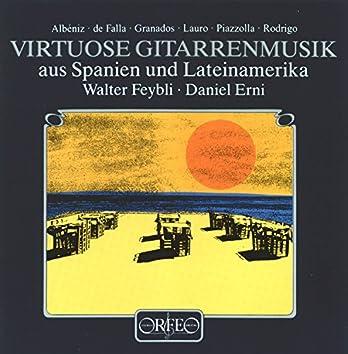 Virtuose Gitarrenmusik aus Spanien und Lateinamerika
