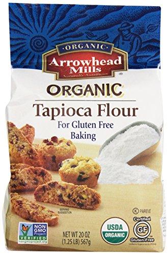 Arrowhead Mills Organic Gluten Free Tapioca Flour, 20 oz