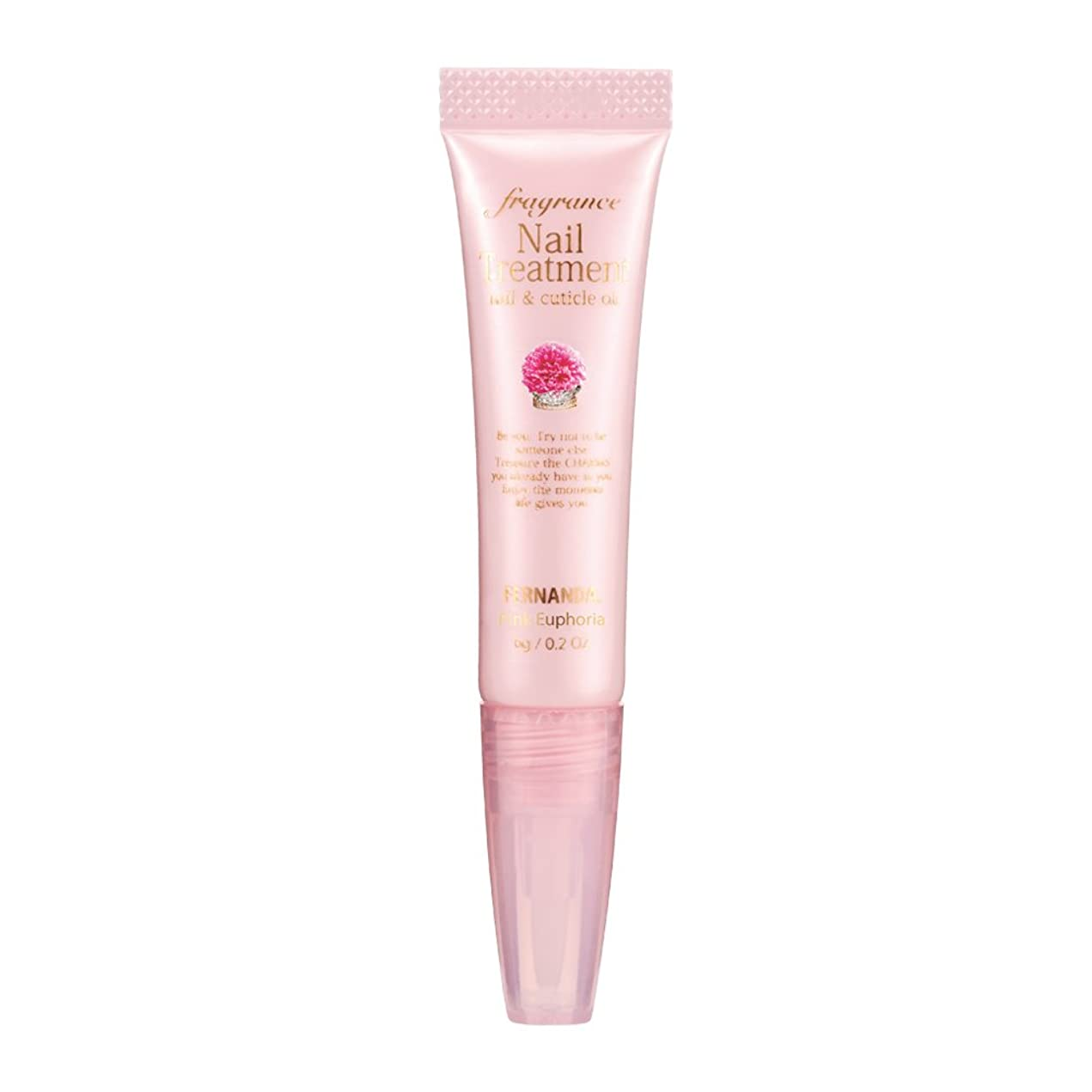 つかむプレビュー同盟FERNANDA(フェルナンダ) Fragrance Nail Treatment Pink Euphoria (ネイルトリートメント ピンクエウフォリア)
