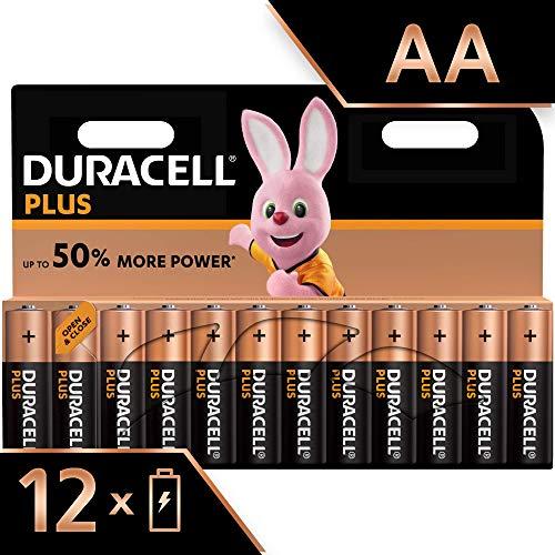 Duracell Baterie Alkaliczne AA, 1.5 V, LR06 MX1500, 12 sztuk