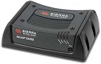 Sierra Wireless AirLink GX450 1102360 Rugged, Secure Mobile 4G LTE, GPS, Wi-Fi Gateway Modem - Verizon - AC & DC (No Antennas Included)