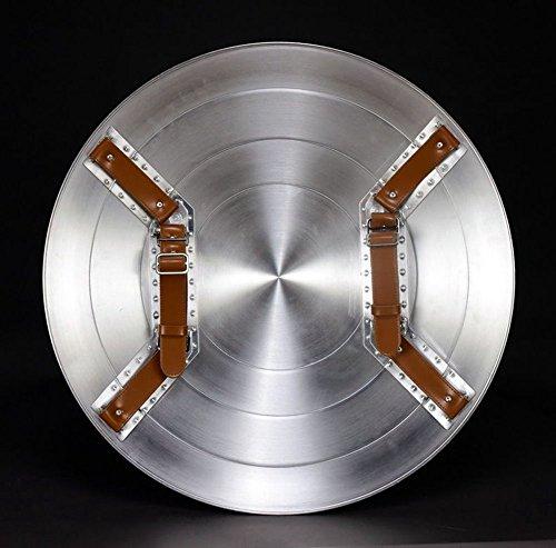 Aluminum America Men's Adult Shield 1:1 Replica+Adjustable Strap