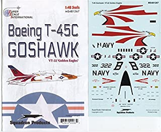 Superscale Decals 1:48 Boeing T-45C Goshawk VT-22 Golden Eagles #MS481267