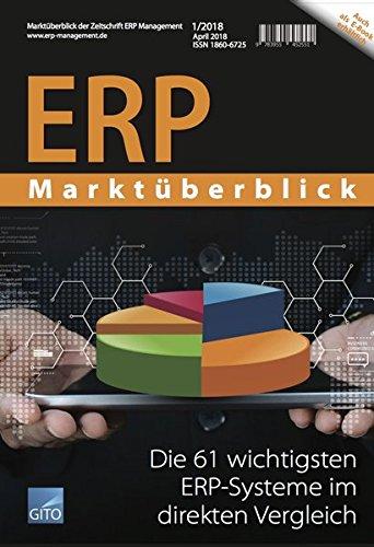 ERP Marktüberblick 1/2018: Die 61 wichtigsten ERP-Systeme im direkten Vergleich
