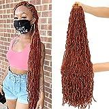 6Packs 36Inch Soft Locs Long Crochet Hair for Black Women, Extended Faux Locs...