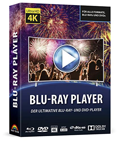 Bluray und DVD Player Software für Windows 10 / 8.1 / 7 / Vista