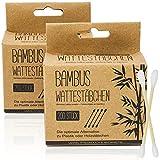 Selldorado 200 x bastoncillos de bambú – bastoncillos de algodón ecológicos biodegradables – Varillas de orgán sostenible natural (400 unidades)