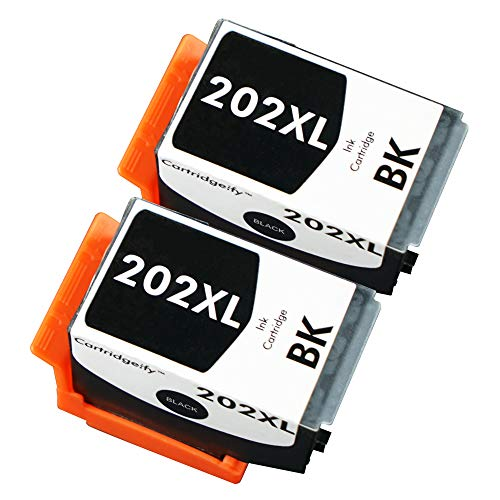 Cartridgeify 202XL Druckerpatronen Kompatibel mit Epson 202 202XL Tintenpatronen Schwarz, für Expression Premium XP-6000 XP-6005 XP-6100 XP-6105
