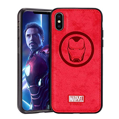 Marvel Avengers Series for Samsung Galaxy S9 Case, Iron Man (Red)