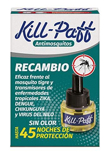 Kill Paff - Insecticida Eléctrico Antimosquitos Sin Olor Recambio (1 unidad)