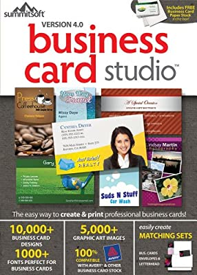 BUSINESS CARD STUDIO 4.0 [Download]