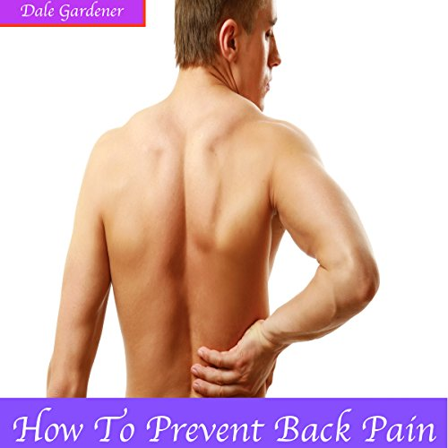 How to Prevent Back Pain audiobook cover art