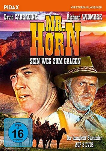 Mr. Horn - Sein Weg zum Galgen / Der komplette Western-Zweiteiler mit David Carradine und Richard Widmark (Pidax Western-Klassiker) [2 DVDs]