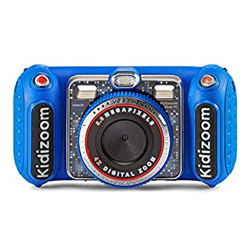 VTech KidiZoom Duo DX Digital Selfie Camera with MP3 Player Blue