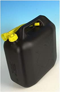 Explosion-Proof Jerry Can 5L Plastic Gas Container Storage Fuel Cans for Motorcycle SUV ATV Dirt Bike Car Boat Vehicle Black