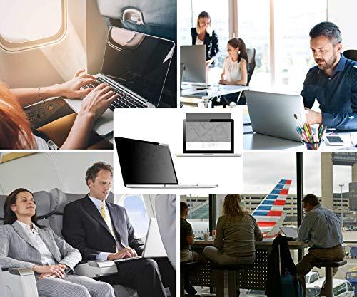 Thorani Laptop Notebook Privacy Filter Blickschutz Folie Sichtschutzfolie - 14.0 Zoll 16:9 Bildschirm
