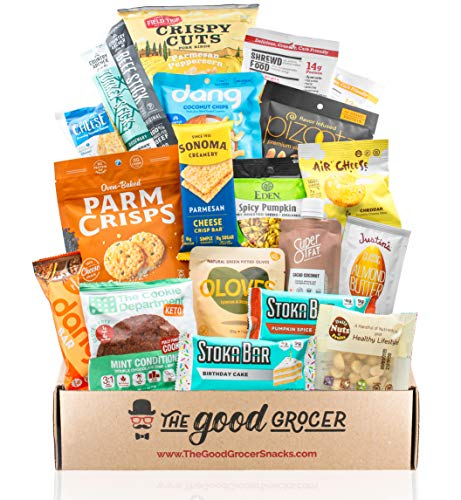 Good Grocer Keto Snacks Care Package