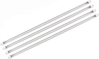 4 Pack of 2Ft 14W T5 LED Tube w Sun 6500K and Over 2.0 PPF/180 Lumen/W, Perfect Replace T5 F24W Tubes Directly Work w Prev...