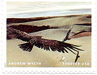 USA Postage Stamp Single 2017 Andrew Wyeth Painting Issue Forever (49 Cent) Scott #5212G