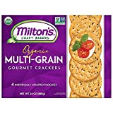 Milton's Craft Bakers Original Multi-Grain Gourmet Baked Crackers 680g (4 Individually Wrapped Packages)