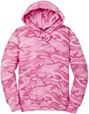 Camoflauge Pullover Hooded Sweatshirt,4X-Large Pink Camo