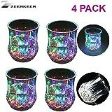 Zeerkeer  Beber Vasos con  5 LED ,Vasos de Whisky con...