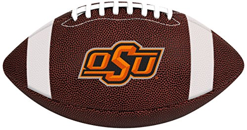Rawlings Official NCAA Air It Out Gametime Football, Youth Size, Oklahoma State Cowboys