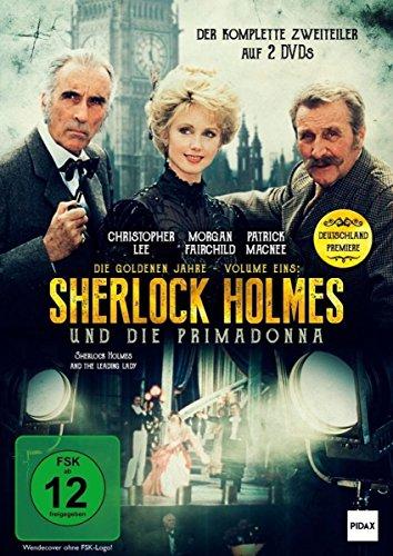 Sherlock Holmes - Die goldenen Jahre, Vol. 1: Sherlock Holmes und die Primadonna (The Leading Lady) / Der komplette 2-Teiler mit Christopher Lee und Patrick Macnee als Deutschlandpremiere [2 DVDs]