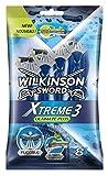 Wilkinson - Xtreme 3 Ultimate Plus - Rasoirs jetables masculins - Pack de 8