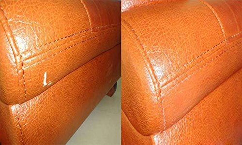 Leather and Vinyl Repair kit by TM Leather, Faux Leather Repair kit, Professional Restoration Solution for Furniture,car seat,Couch,Sofa, Fast Drying.Perfect Matching Any Colors