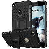 Huawei P8 Lite 2017 Case,ALDHOFA Heavy Duty Shock Proof