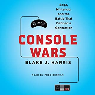 Console Wars     Sega, Nintendo, and the Battle That Defined a Generation              Written by:                                                                                                                                 Blake J. Harris                               Narrated by:                                                                                                                                 Fred Berman                      Length: 20 hrs and 41 mins     48 ratings     Overall 4.5