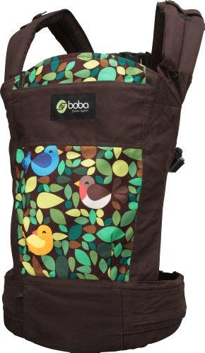 Boba 4G BOBA4G-TWEET - Mochila portabebé, Multicolor (Tweet), talla Única