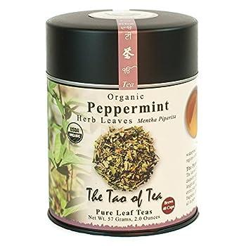 The Tao of Tea Peppermint Herbal Tea Loose Leaf 2 Ounce Tin
